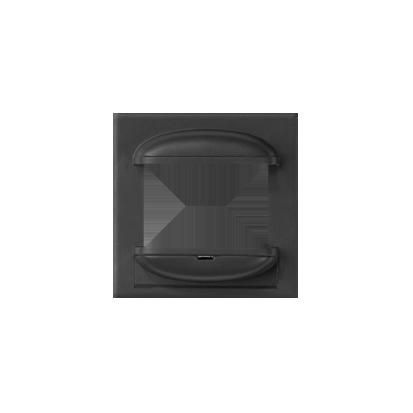 Abdeckung für Schalter mit Sensor 75343-39 graphit matt Kontakt Simon 82 82060-38