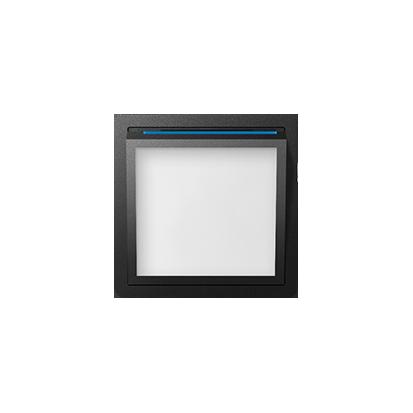 Abdeckung für beleuchtetes Modul LED graphit matt Kontakt Simon 82 82036-38