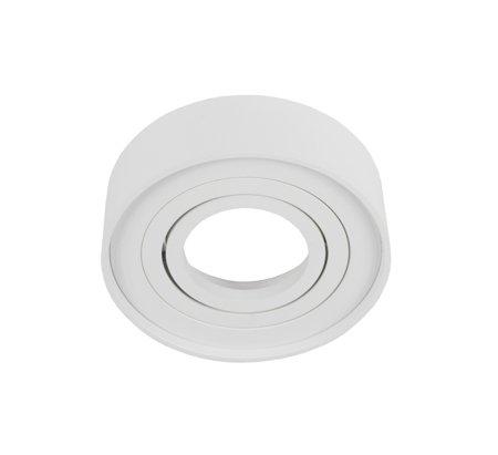 Aufbaustrahler Aufbauleuchte SKAND 1 MINI WHITE Deckenleuchte rund weiß EDO777126 EDO