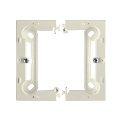 Aufputz- Gehäuse tief (40mm) cremeweiß Simon 54 Premium Kontakt Simon PSC/12