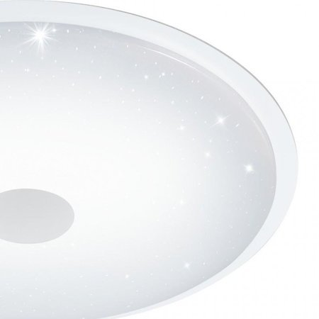 Aufputzlampe Deckenleuchte LANCIANO weiß LED 40W 4000lm 3000K 66cm 97737 EGLO