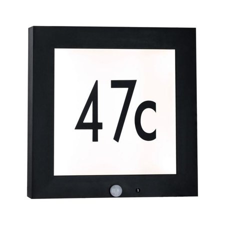 Außen-Panel BOARD 30 Sensor LED 9W 3000K IP44 - Anthrazit Paulmann PL94254