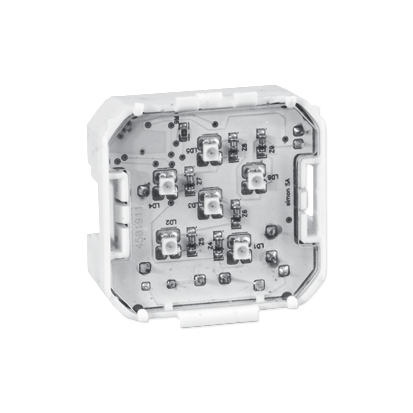 Beleuchtetes Modul 230V~ LED Kontakt Simon 82 75370-39