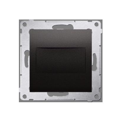 Blindverschluss mit Zentralstück für Rahmen Simon 54 Premium anthrazit matt Kontakt Simon DPS.01/48