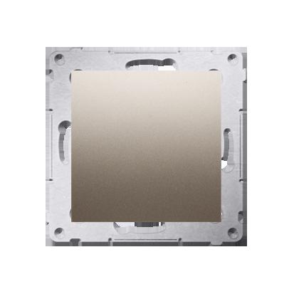 Blindverschluss mit Zentralstück für Rahmen Simon 54 Premium gold matt Kontakt Simon DPS.01/44