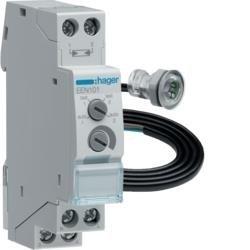 Dämmerungsschalter mit Einfbaufühler EEN002 Hager EEN101