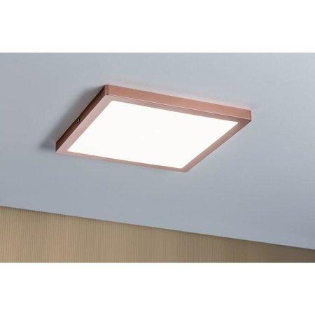 Deckenleuchte ATRIA quadratisch LED 20W 4000K Rosé Gold Paulmann PL70941