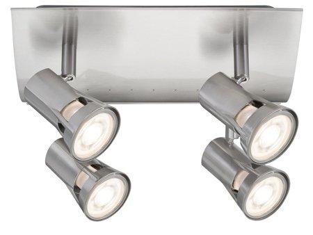 Deckenleuchte Spotlight Teja 4xGU10 Nickel