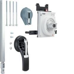 Drehantrieb für Baugröße h1000  Türeinbau Hager HXE031H