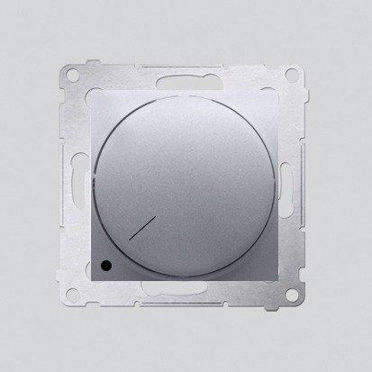 Drehdimmer 2polig für dimmbare LEDs silber matt Simon 54 Premium Kontakt Simon DS9L2.01/43