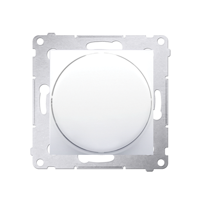 Drehpotenziometer 1 - 10 V Regulierknopf mit Softrastung weiß Kontakt Simon DS9V.01/11