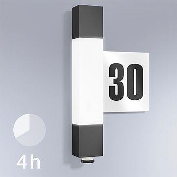 Einbauleuchte L 630 LED 8,2W 3000K 663lm IP44 Anthrazit Steinel
