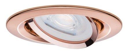 Einbauleuchte dimmbar schwenkbar LED Set Premium EBL Nova 3x7W GU10 Roségold