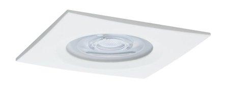 Einbauleuchte quadratisch dimmbar LED Premium EBL Nova 1x7W GU10 weiß IP44