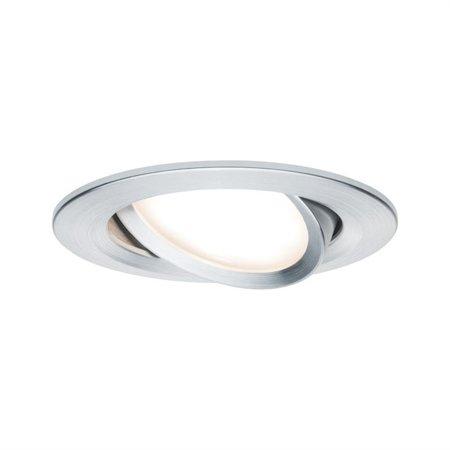 Einbauleuchte schwenkbar LED Set Premium EBL Coin Slim 3x6,8W 2700K 415lm Aluminium