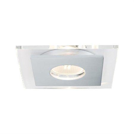 Einbauleuchten quadratisch LED Layer GU10 3x3,5W Aluminium