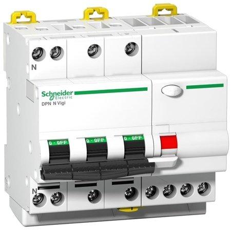 Fehlerstrom-Schutzschalter DPNNVigi-B25-30-AC B 25A 3N-polig 30 mA Typ AC