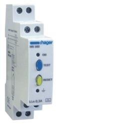 Fehlerstromschutz-Relais 300mA ohne Zeitverzögerung Hager HR502
