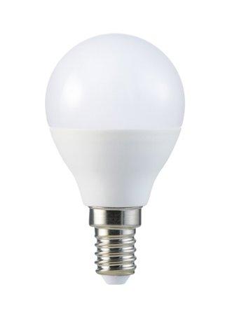 Glühbirne KARI LED Kugel EDO, Sockel E14, Leistung 7W, Lichtfarbe warmweiß 3000K, Lichtstrom 600lm