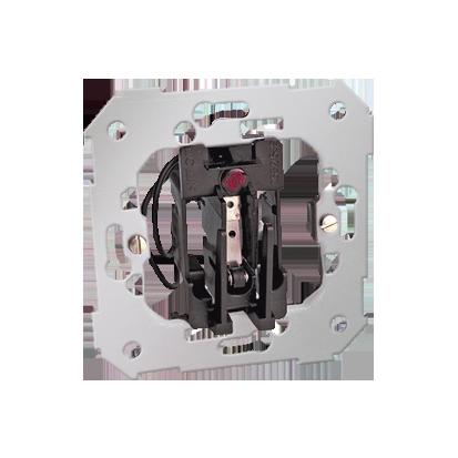 Hotelschalter- Einsatz mit LED 1 microswitch 6A Kontakt Simon 82 26526-39