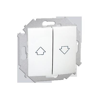 Jalousie-Wippentaster (Modul) 2fach mit Aufdruck Symbol Pfeile