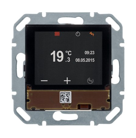 KNX e/s Raumcontroller mit Display und integriertem Busankoppler Hager 80660100