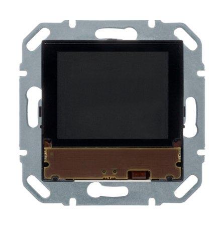 KNX e/s Temperaturregler mit Display und integriertem Busankoppler Hager 80440100