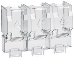 Klemmenabdeckeckung Sicherungs-Lasttrennschalter 250- 400A 3polig Hager HZF204