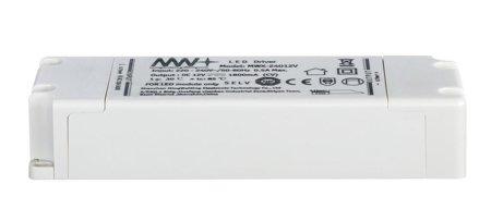 Komplettset mit Stripe LED 3m BlackLight LED 21,6W Weiß + Speiseleitung 22VA