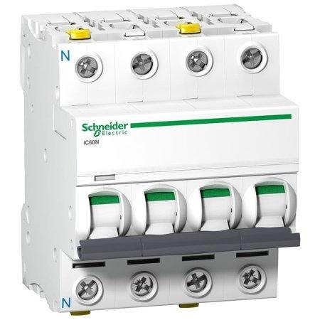 Leitungsschutzschalter iC60N-C6-3N C 6A 3N-polig