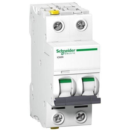 Leitungsschutzschalter iC60N-D2-2 D 2A 2- P+E