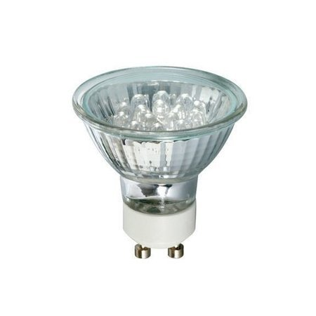 Leuchtmittel LED GU10 1W rot 18lm