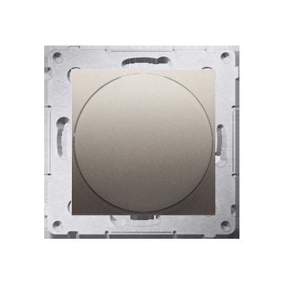 Lichtsignal grün LED (Modul) Gehäuse gold matt Simon 54 Premium Kontakt Simon DSS3.01/44