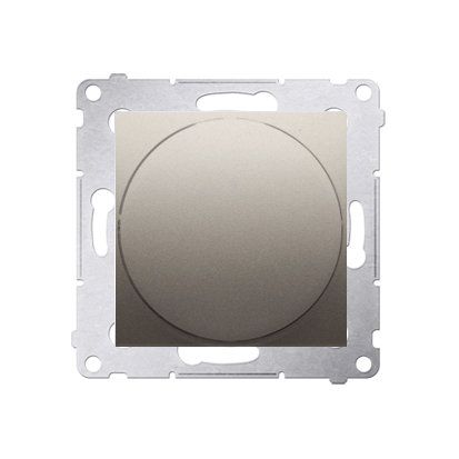 Lichtsignal rot LED (Modul) Gehäuse gold matt Simon 54 Premium Kontakt Simon DSS2.01/44