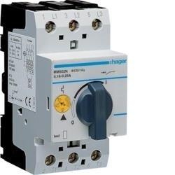Motorschutzschalter einstellbar von 0,16 bis 0,25A 230/400V Hager MM502N