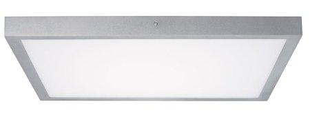 Panel LED Lunar 600x600mm 18W 3000K 2100lm Chrom matt Aluminium