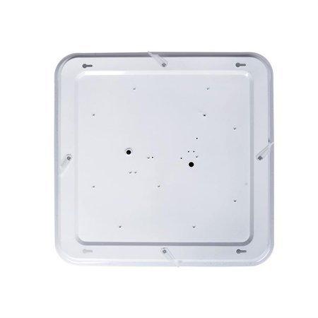 Plafond weiß YAX 24W LED dimmbar + Fernbedienung 1820lm 3000K - 6000K Milagro ML4402