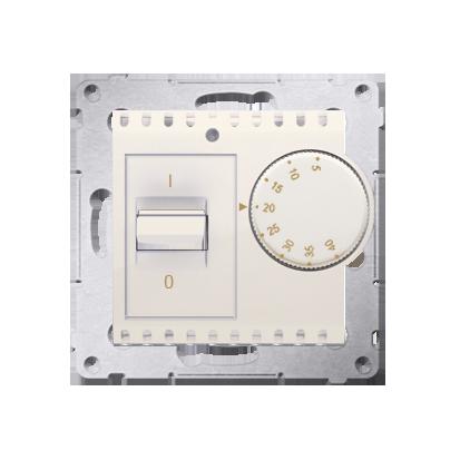 Raumtemperatur- Regler mit Innensensor (Modul) cremeweiß matt Kontakt Simon 54 Premium DRT10W.02/41