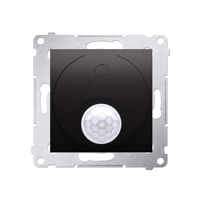 Relais- Schalter Modul mit Bewegungssensor Verwendung im offenen Bereich anthrazit matt DCR11P.01/48