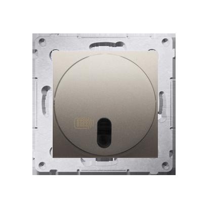 Relais-Schalter (Modul) mit Fernbedienung gold matt Simon 54 Premium Kontakt Simon DWP10P.01/44