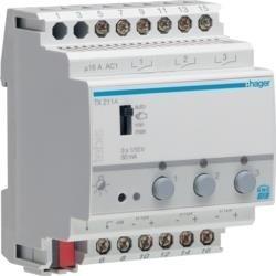 Schalt-/Dimmaktor 3-fach KNX 1-10V TX211A