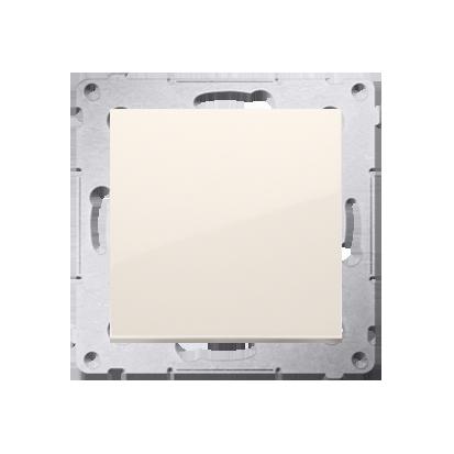 Schalter (Modul) 1polig cremeweiß matt mit Steckklemmen Simon 54 Premium Kontakt Simon DW1.01/41
