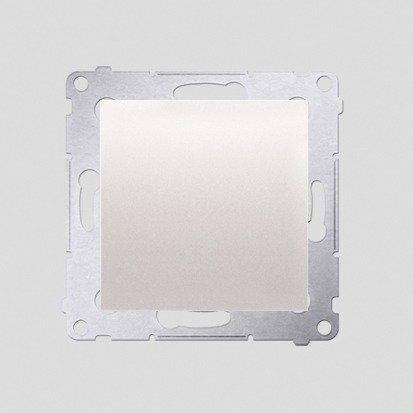 Schalter (Modul) einpolig matt cremeweiß Kontakt Simon 54 Premium DW1A.01/41