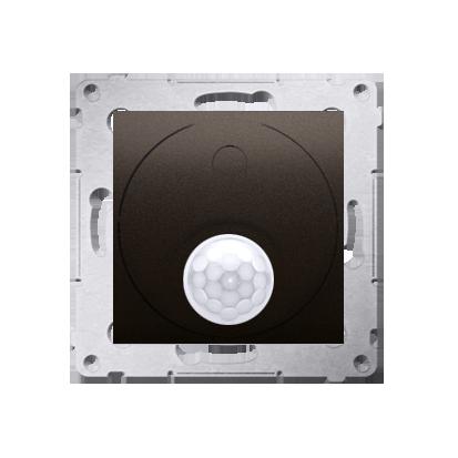 Schalter (Modul) mit Bewegungssensor 20-500W braun matt Simon 54 Premium Kontakt Simon DCR10T.01/46