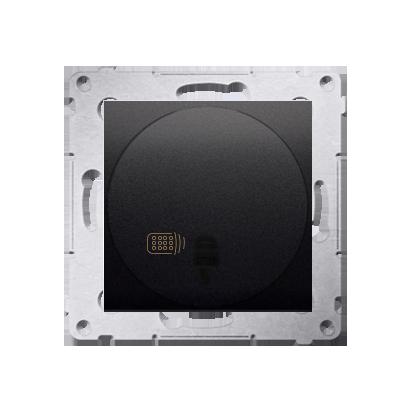 Schalter (Modul) mit Fernbedienung 20-500W anthrazit matt Kontakt Simon 54 Premium DWP10T.01/48