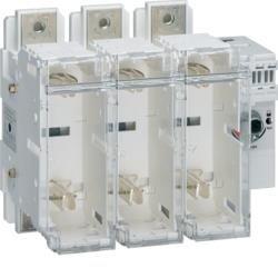 Schalter mit Sicherung 3polig 630 A / T3 Hager HFD363