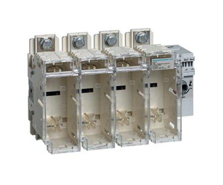 Schalter mit Sicherung 4polig 250 A/ T1 Hager HFD425