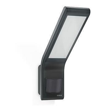 Scheinwerfer XLED slim mit Sensor 10,5W 3000K 660lm Anthrazit IP44 Steinel