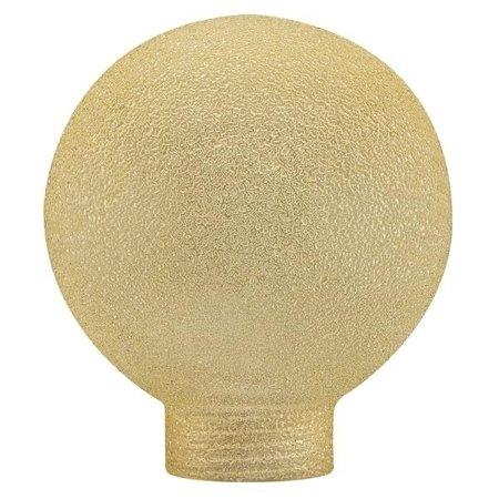 Schirm Globe 60mm Minihalogen Eiskri Bernstein