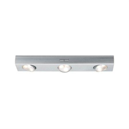 Schrankleuchte dimmbar Jiggle 30cm LED 18W 3000K 22lm Chrom matt 6x1.5V AAA